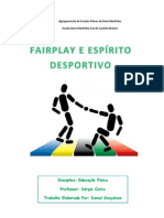 Espírito Desportivo e Fairplay