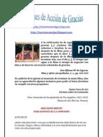 ORACIONES DE ACCIÓN DE GRACIAS | ALIANZA DE AMOR