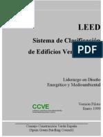 LEED Sistema de clasificacion de edificios verdes.España