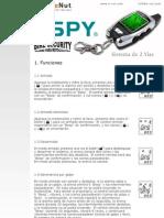 Manual Usuario SPY LM209 On