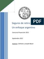 Seguro de Retiro, Un Enfoque Argentino