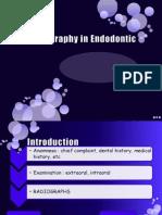 Radiography in Endodontic