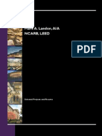 Portfolio of Mark A. Landon, AIA, NCARB, LEED