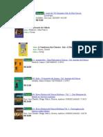 Lista de Livros Fisica e Hist Ciencia