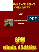 Towards Excellence in Chemistry08 Latest