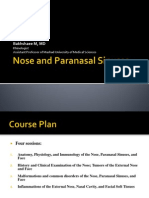 Nose and Paranasal Sinuses According to New Reference 1