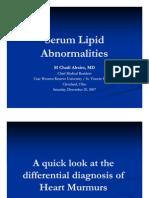 Serum Lipid Abnormalities