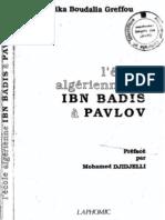 L'Ecole Algérienne de Ibn Badis à Pavlov Greffou