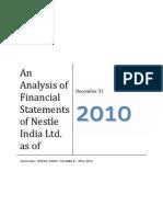 MAC Project Report _ Nestle India Ltd.
