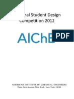 2012 National Student Design Contest Problem