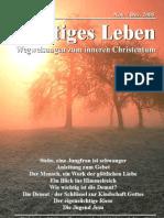 Geistiges Leben 2005-6