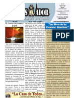 """2012-04-15""""El CONQUISTADOR"""", una publicación de la LA CASA DE TODOS"""
