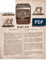 (1743) Boxing Rules- Jack Broughton