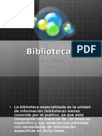 Biblioteca Especializada