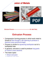 Extrousion Process 2012