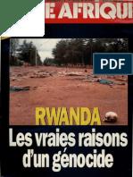 Rwanda . Les vraies raisons d'un génocide - Jeune Afrique -