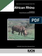 Africa Rhino Actionplan