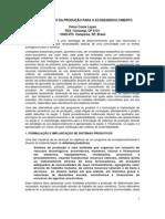 Planejamento Economico Para o Ecodesenvolvimento