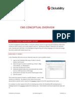 Clickability CMS ConceptualOverview