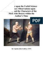 (1747) A Treatise Upon the Useful Science of Defence Observations Upon Boxing, And the Characters of the Most Able Boxers Within the Author's Time