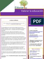 Educares. Newsletter nº 31