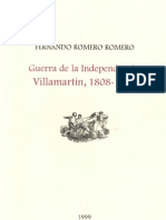 Guerra Independencia Villamartín 1808-1813