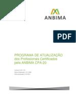 Programa de Atualizacao CPA 20