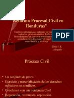 Reforma Procesal Civil en Honduras 4