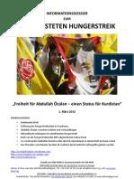 Dossier zum Hungerstreik vor dem Europaparlament