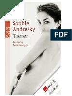 Sophie Andresky - Tiefer