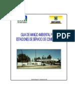 Guia de Manejo Ambiental Para Estaciones de Servicio de Combustible