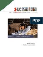 Pobreza Urbana Em Portugal