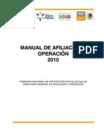 Manual de Afiliacion y Operacion