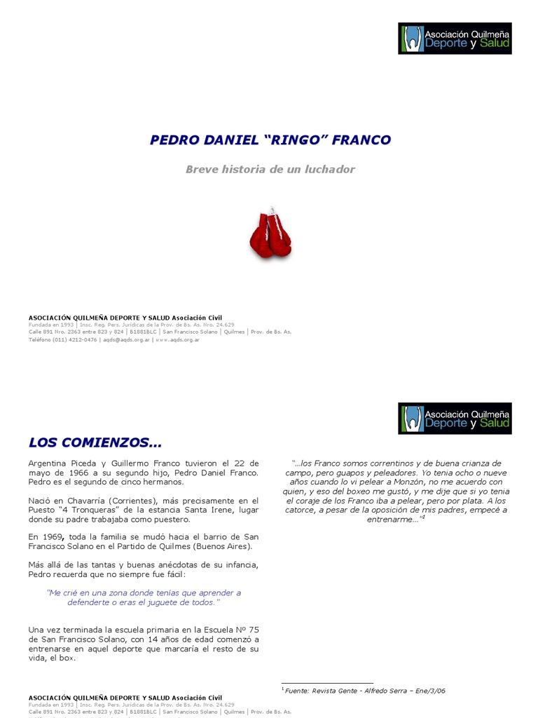 Presentación FrancoFrancisco Deportes Presentación Presentación Daniel FrancoFrancisco Deportes Pedro Pedro Daniel Pedro rBoedCxW