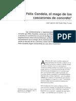 Félix Candela, el mago de los cascarones de concreto