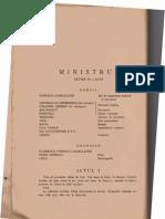 Gh. Braescu  - Ministrul