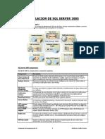 Instalacion Pasoa Paso SQLServer 2005