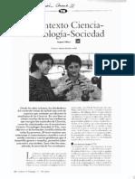 El contexto CienciaTecnología-