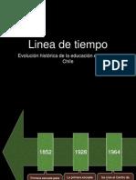 LINEA DE TIEMPO DE LA EDUCACIÓN ESPECIAL EN CHILE