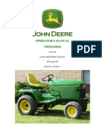 JD 425 445 Operators Manual