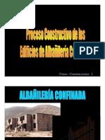 albañileria Confinado