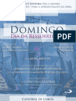 Poster Domingo Ressurreicao Red