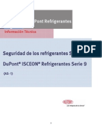 DuPont® - Seguridad de los refrigerantes