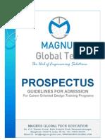 Magnus Prospectus Guidelines Admission Form