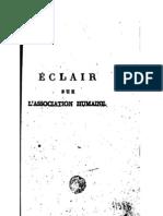 LCSM Eclair Sur l'Association Humaine