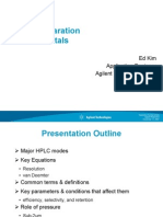 HPLC Separation Fundamentals - 011409