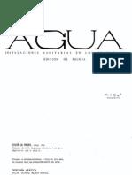 Agua Instalaciones Sanitarias En Los Edificios [Arq. Luis López]