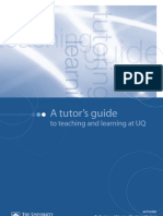 Tutor Training Manual