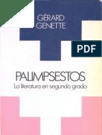 Gerard Genette, Palimpsestos