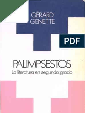 Gerard Genette Palimpsestos Homero Intertextualidad